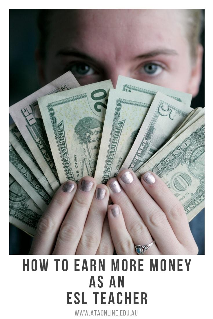 EARN MORE MONEY AS AN ESL TEACHER -ATA TESOL COLLEGE