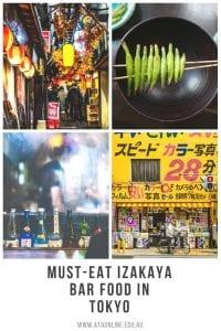 Izakaya Food Tokyo - ATA TESOL College